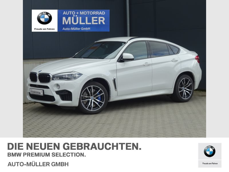 BMW X6 M DAB Navi LED Soft-Close Standheiz., Jahr 2017, Benzin