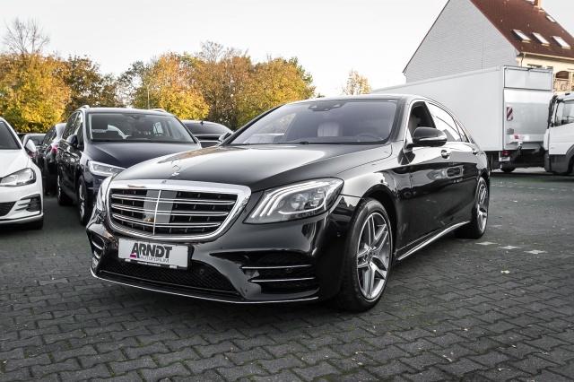 Mercedes-Benz S 560 Lang 4M AMG MULTIBEAM Pano Burme TV 360, Jahr 2018, Benzin