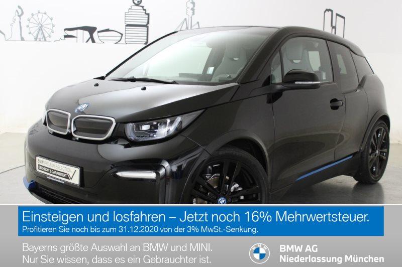 BMW i3 S 120 Ah HK HiFi LED GSD RFK Navi Prof. RTTI, Jahr 2019, Elektro