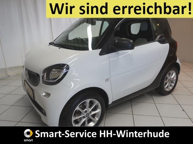 smart fortwo passion AUTOM+PANORAMA+SITZHZ+BT+USB+DAB, Jahr 2019, Benzin