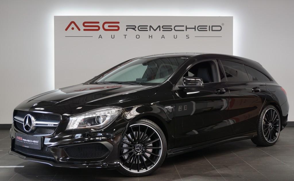 Mercedes-Benz CLA 45 AMG Shooting Brake 4M *HarmanKardon*Night, Jahr 2015, Benzin