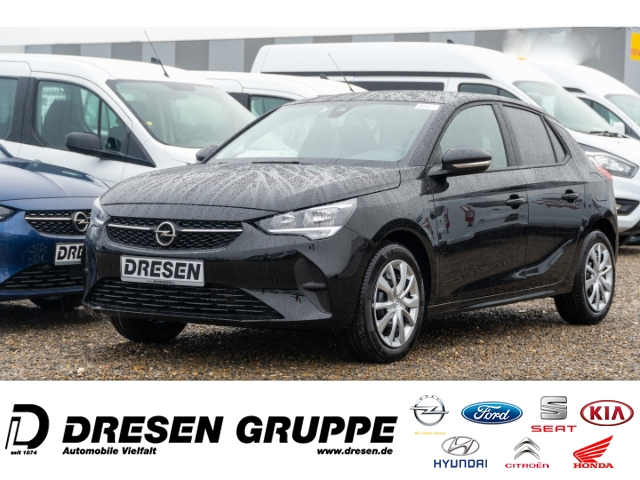 Opel Corsa Edition 1.2 KLIMA/RADIO BT/PDC/SHZ/LHZ/SICHT-PAKET, Jahr 2021, Benzin