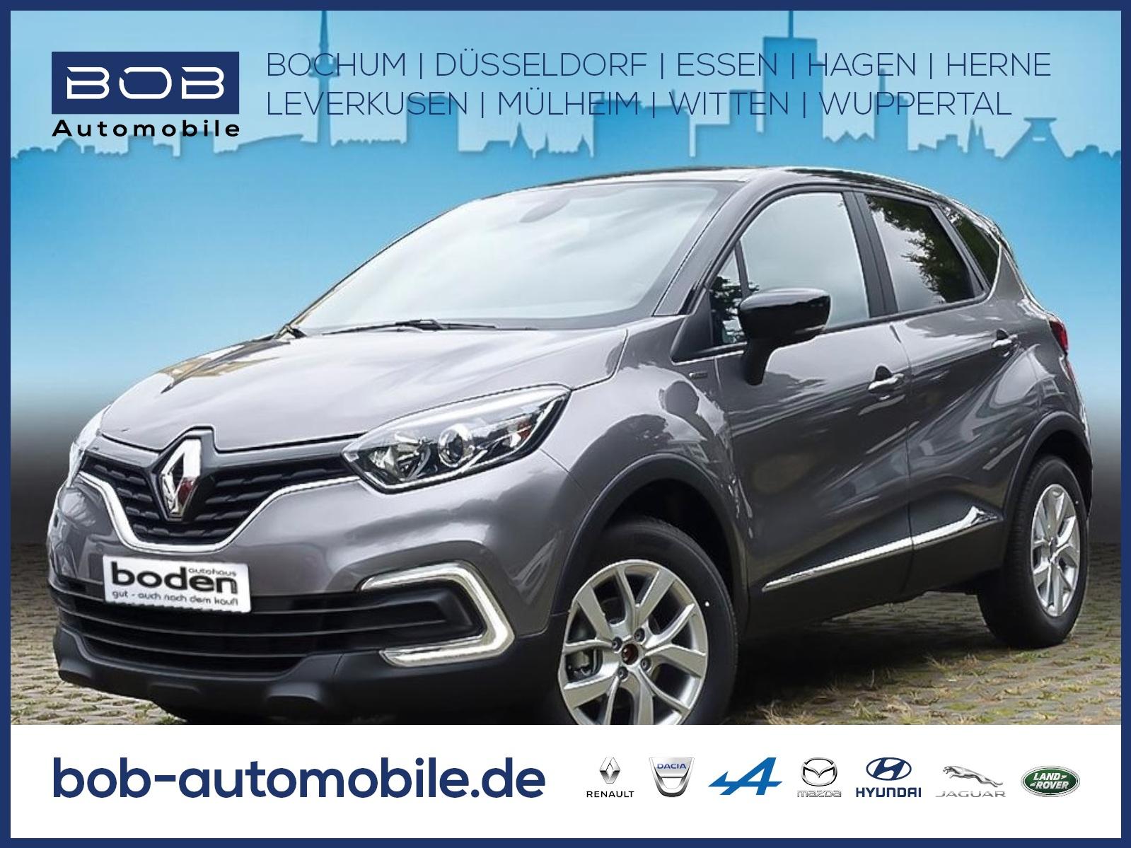 Renault Captur LIMITED DELUXE TCe 90 NAVI SHZ PDC KLIMA, Jahr 2019, Benzin