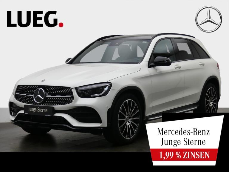 Mercedes-Benz GLC 300 4M AMG+MBUX+Navi+Pano+Mbeam+Airm+20''+RF, Jahr 2019, Benzin