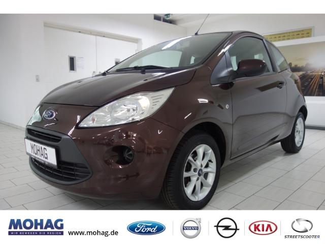 Ford Ka Titanium*WENIG KM*SZH*ALU*AUX*KLIMA*, Jahr 2014, Benzin