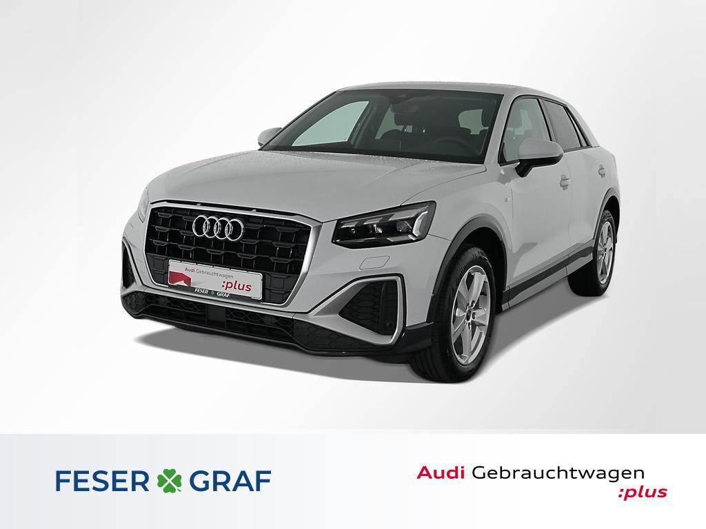 Audi Q2 S line 35TFSI Matrix/Navi+/ACC/Kamera/B&O/17, Jahr 2021, Benzin