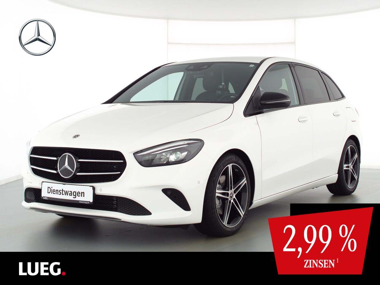 Mercedes-Benz B 200 PROGRESS.+NIGHT+HIGH-MBUX+AHK+EL. HECKKL., Jahr 2021, Benzin