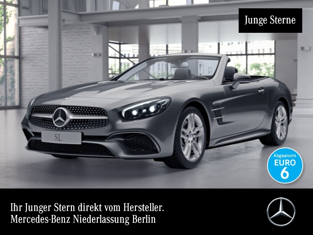 Mercedes-Benz SL 400 AMG Pano Harman Distr+ COMAND ILS LED 9G, Jahr 2016, Benzin