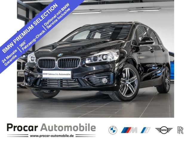 BMW 216 Active Tourer (Kurvenlicht Bluetooth Navi Klima DPF), Jahr 2016, Diesel