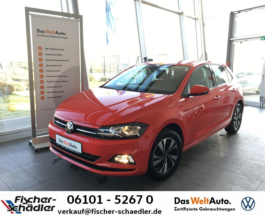 "Volkswagen Polo 1.0TSI*AppConnect*ParkPilot*SitzHz.""15ALU"", Jahr 2021, petrol"
