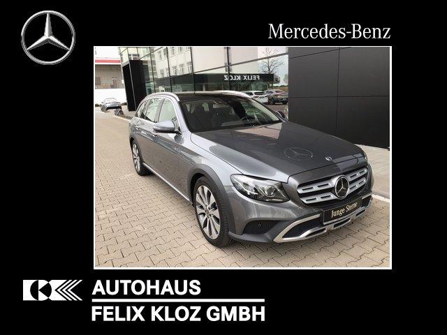 Mercedes-Benz E 350 d T All-Terrain 4M+LED+AHK+MULTIKONT+DISTR, Jahr 2018, Diesel