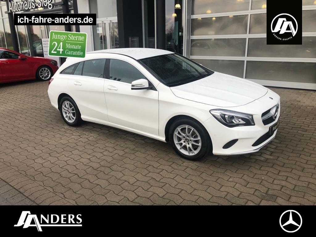 Mercedes-Benz CLA 180 SB AHK+Navi+LED+PTS+Tempomat+Sitzheizg.+, Jahr 2018, Benzin