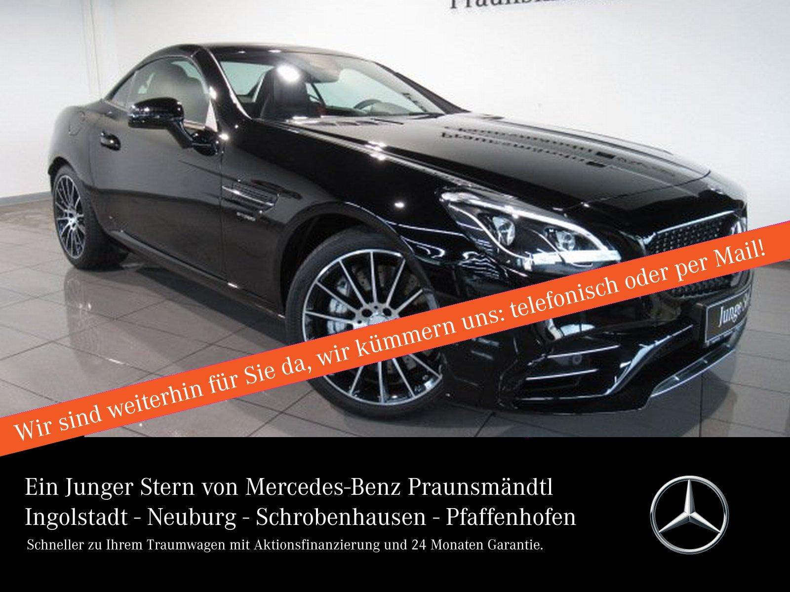 Mercedes-Benz SLC 43 AMG MEMORY/AIRSCARF/Sound/PANORAMA/Comand, Jahr 2018, Benzin
