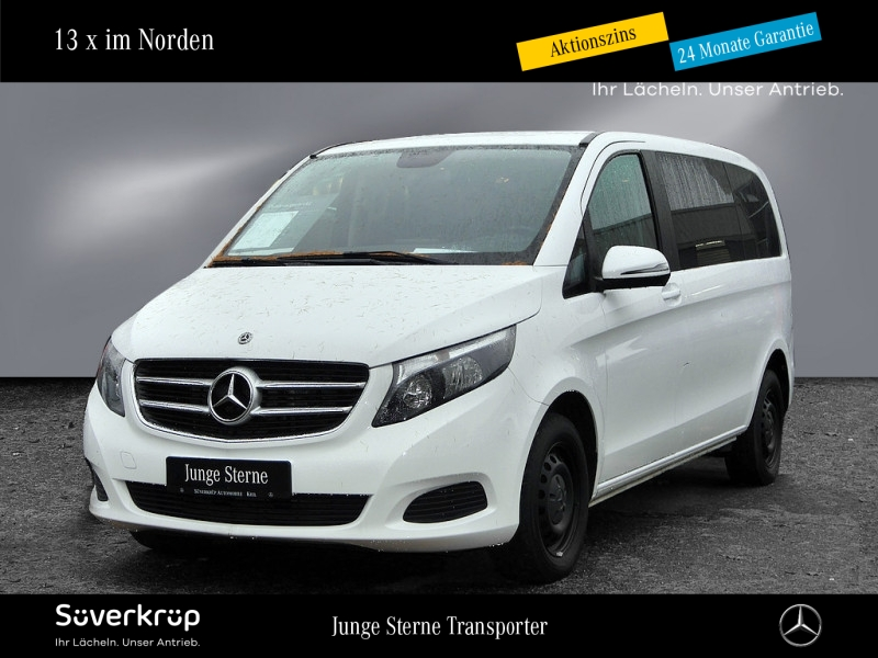 Mercedes-Benz V 200 d Rise/kurz/Klima/Tempomat/Liege-Paket, Jahr 2018, Diesel