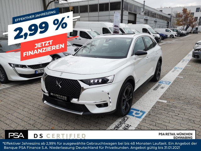 DS Automobiles DS7 Crossback BlueHDI 180 Aut. BUSINESS LINE, Jahr 2020, Diesel