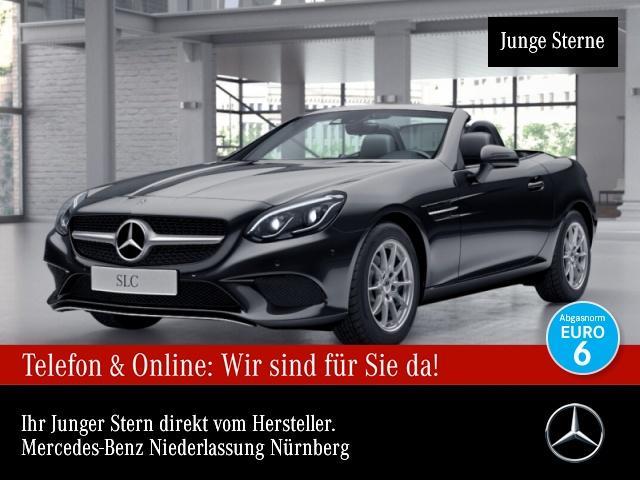 Mercedes-Benz SLC 180 Pano ILS LED Navi PTS 9G Sitzh Temp, Jahr 2018, Benzin