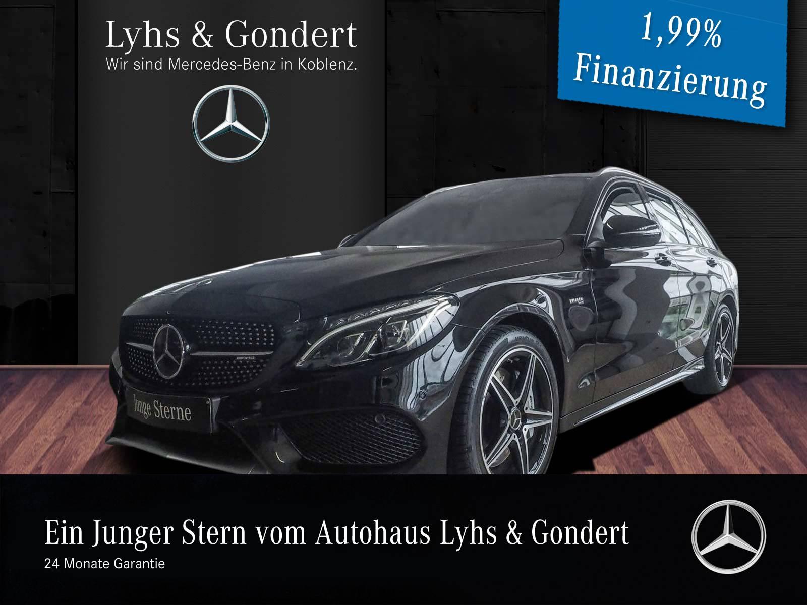 Mercedes-Benz C 43 AMG 4MATIC T-Modell Burmester Comand, Jahr 2017, Benzin