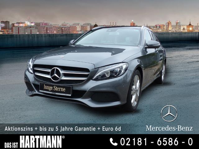 Mercedes-Benz C 200 T AVANTGARDE+NAVI+PANO.-DACH+R.KAMERA+LEDS, Jahr 2017, Benzin