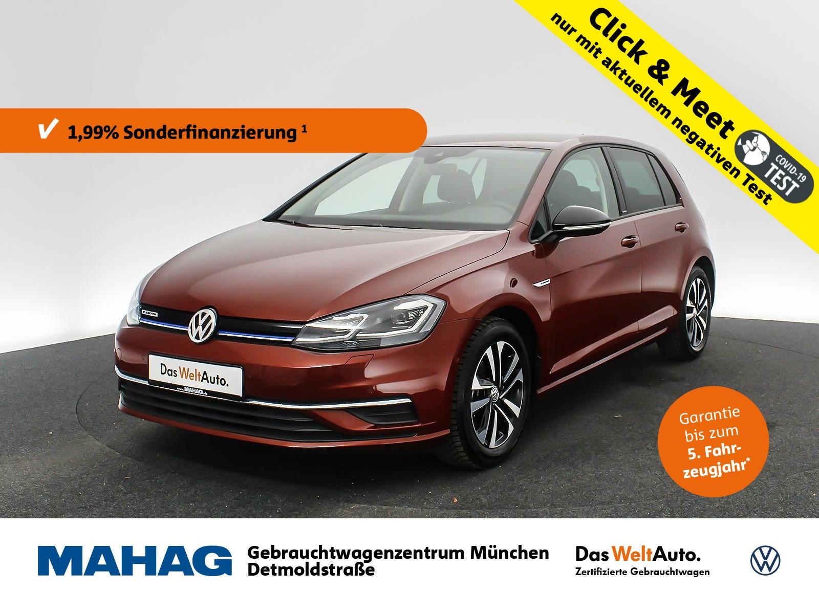 Volkswagen Golf VII 1.5 TSI ACT IQ.DRIVE Navi LED Kamera ParkLenkAssist Bluetooth 16Zoll 6-Gang, Jahr 2019, Benzin
