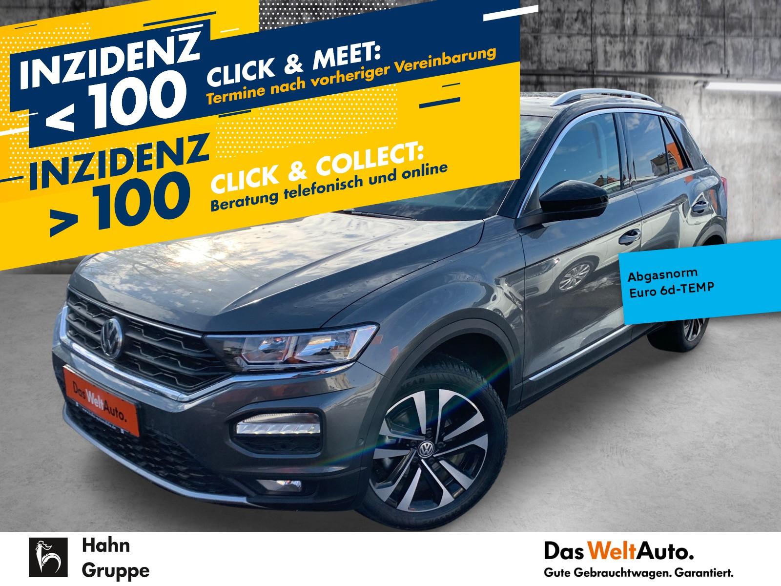 Volkswagen T-Roc United 1.5TSI DSG AHK Navi Sitzh Einpark, Jahr 2020, Benzin