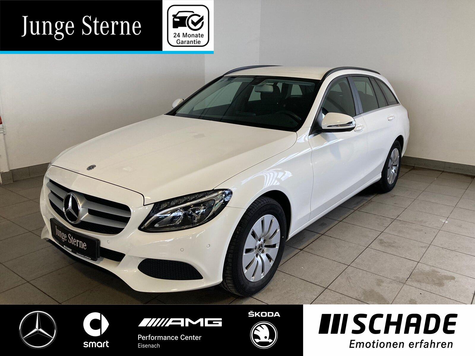 Mercedes-Benz C 200 d T Navi*LED*Sitzheizung*Park-Assis*1.Hand, Jahr 2017, Diesel