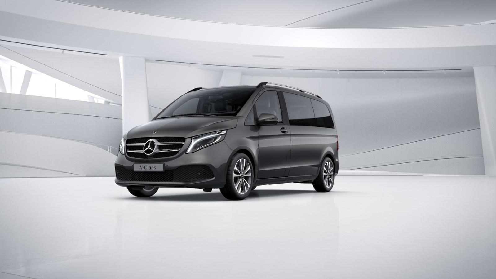 Mercedes-Benz V 250 Kompakt AHK Navi 9-Gang LED Spur-P. SHZ, Jahr 2019, Diesel
