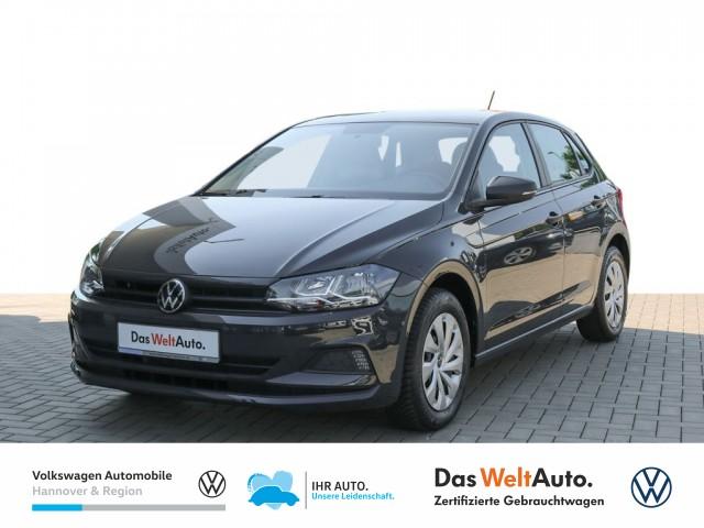 Volkswagen Polo 1.0 Trendline Klima Tagfahrlicht DAB+, Jahr 2020, Benzin