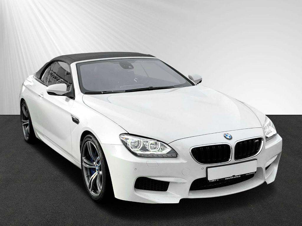 BMW M6 Cabrio LED Navi HUD PDC B&O 20'', Jahr 2012, petrol