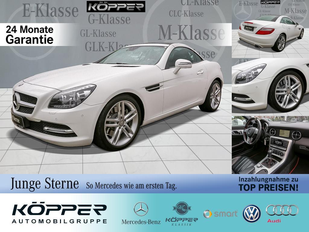 Mercedes-Benz SLK 200 Roadster White Limited Navi ILS Leder, Jahr 2014, Benzin