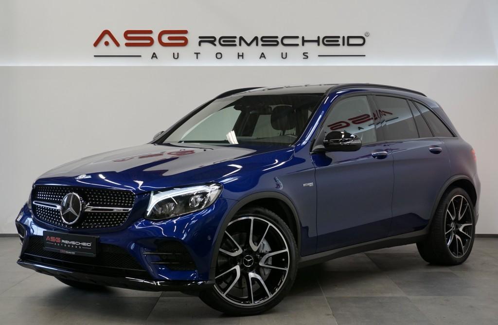 Mercedes-Benz GLC 43 AMG 4M 9G-Tr. *Distr. *Pano*Burmester*LED, Jahr 2016, Benzin