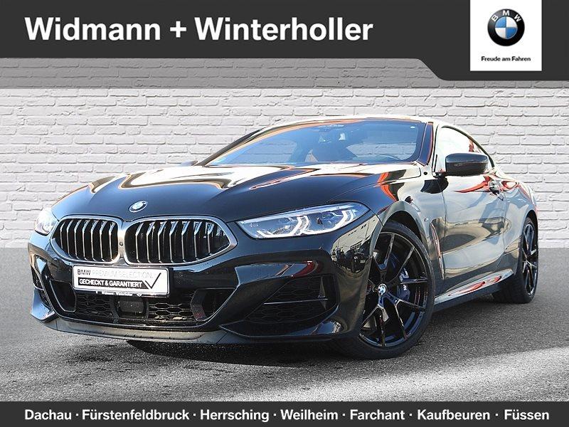 BMW M850i xDrive Coupé M Carbondach LR999€ br. o.Anz., Jahr 2018, petrol