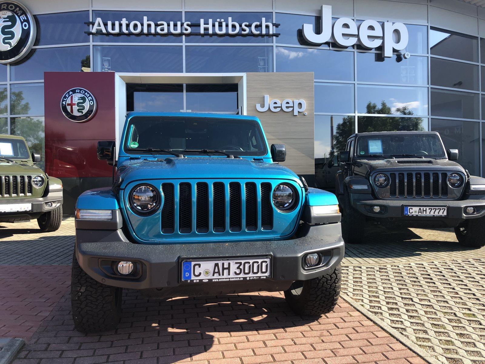 Jeep Wrangler Unlimited Sahara 2,2 CRD MY20 Automatik, Jahr 2020, Diesel