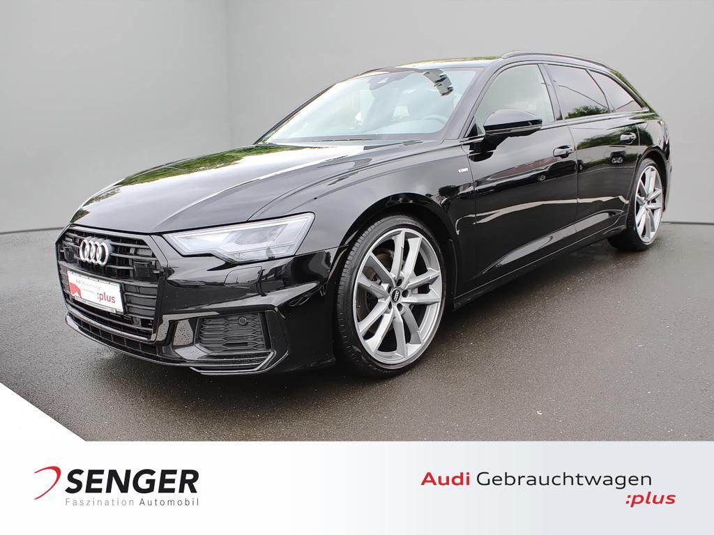 Audi A6 Avant 45 TDI quattro Navi S line 21 Zoll AHK, Jahr 2020, Diesel