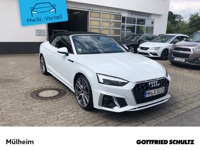 Audi A5 CABRIO LINE 40 TFSI LED DAB S TRONIC virtual cockpit plus LED DAB sofort lieferbar, Jahr 2020, Benzin