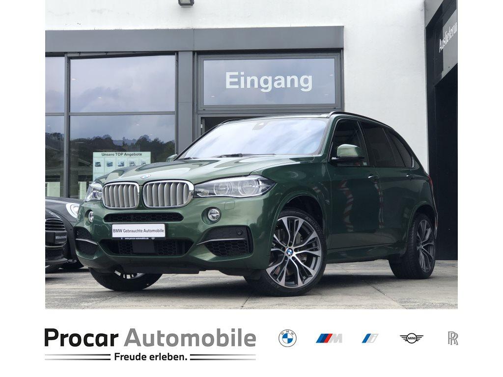 BMW X5 M50d Navi HuD LED DA+ Pano AHK Standheiz. 21, Jahr 2017, Diesel