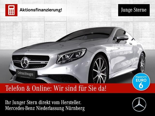 Mercedes-Benz S 63 AMG Cp. 4M designo Driversp Fahrass 360°, Jahr 2015, Benzin