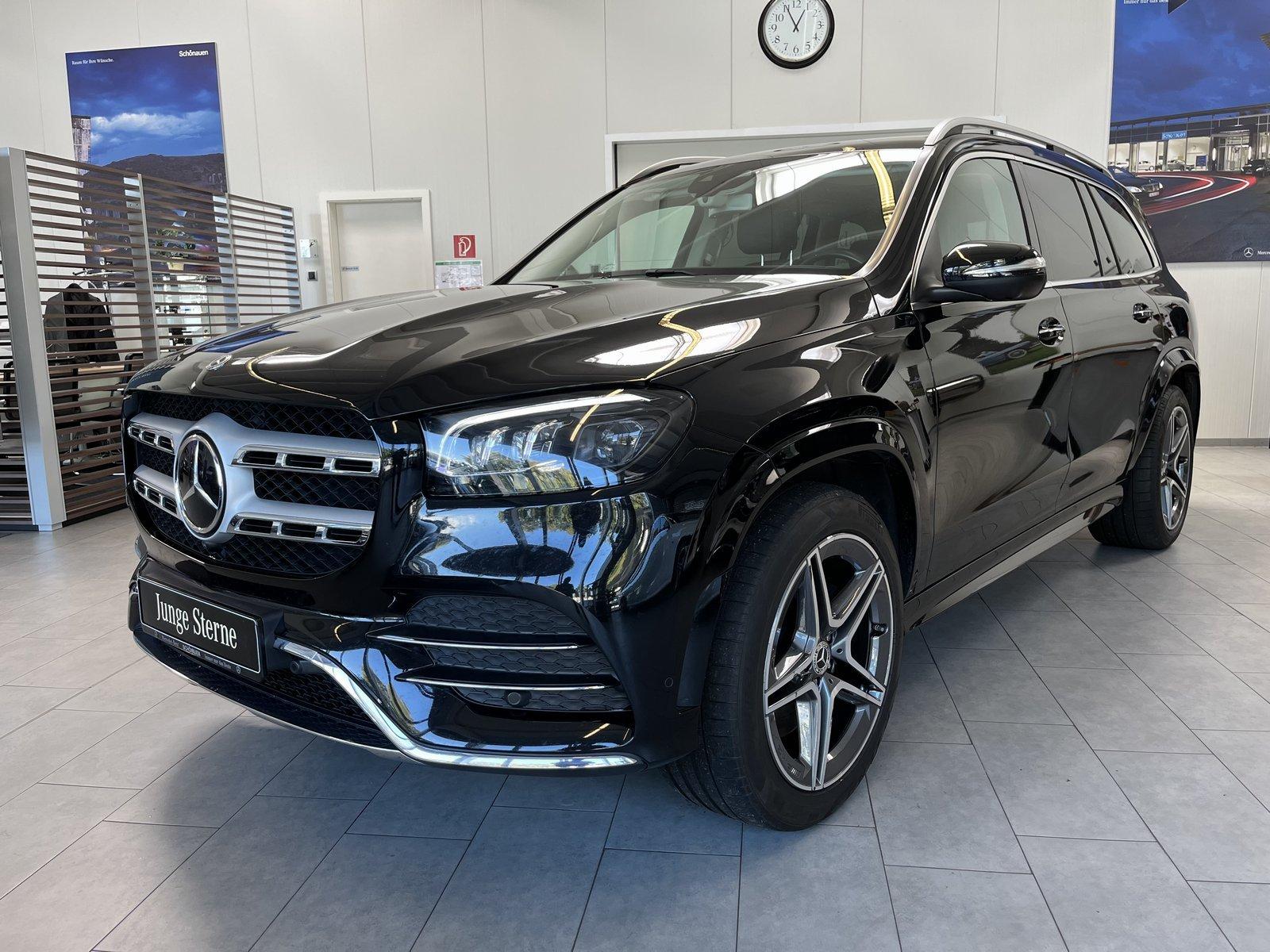 Mercedes-Benz GLS 350d 4M AMG+AIRMATIC+DISTR+AHK+SITZKLIMA+360, Jahr 2020, Diesel