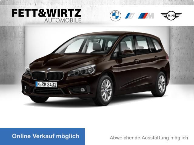 BMW 218 Gran Tourer Adv. Navi AHK LED Alarm PDC SHZ, Jahr 2016, Diesel
