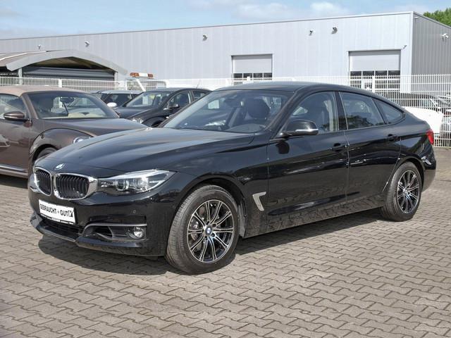 BMW 340i GT xDrive Advantage Automatik LED Navi Leder Keyless, Jahr 2017, petrol
