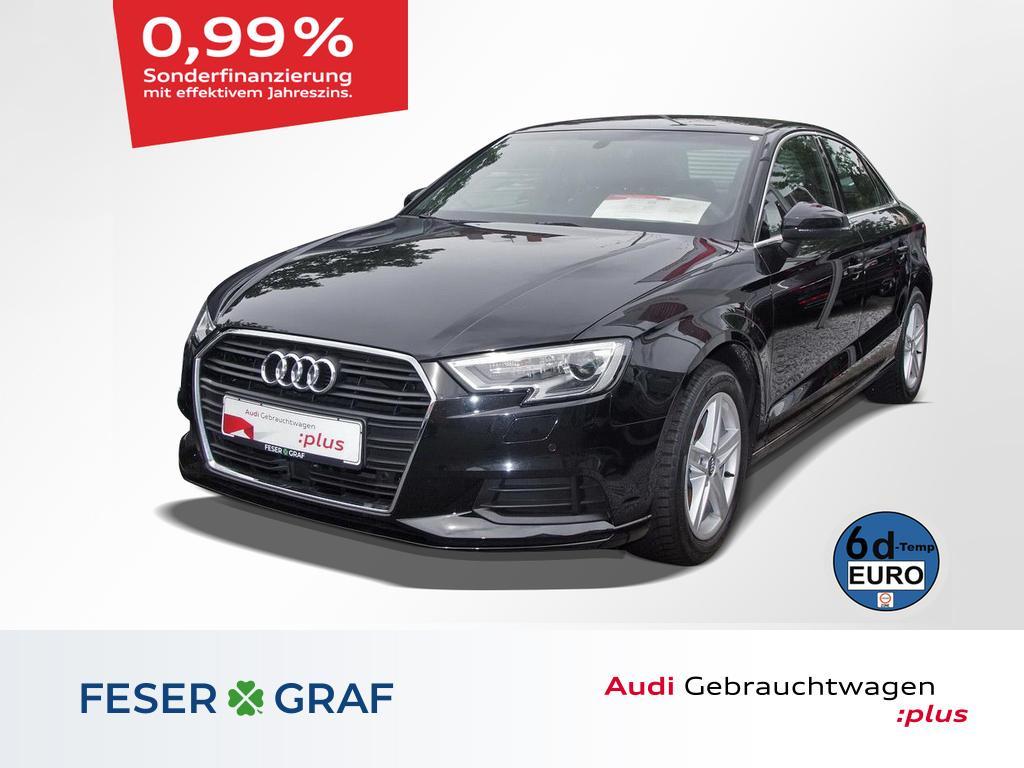 Audi A3 Lim. 1.6 TDI Navi touch/DAB/vorb. AHK/PDC+, Jahr 2019, Diesel