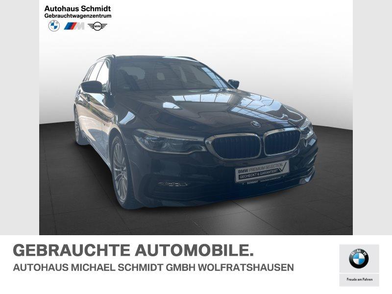 BMW 525d Touring+SPORT+LINE+ACC+ADAP+LED+HUD+HIFI+KEYLESS, Jahr 2017, Diesel