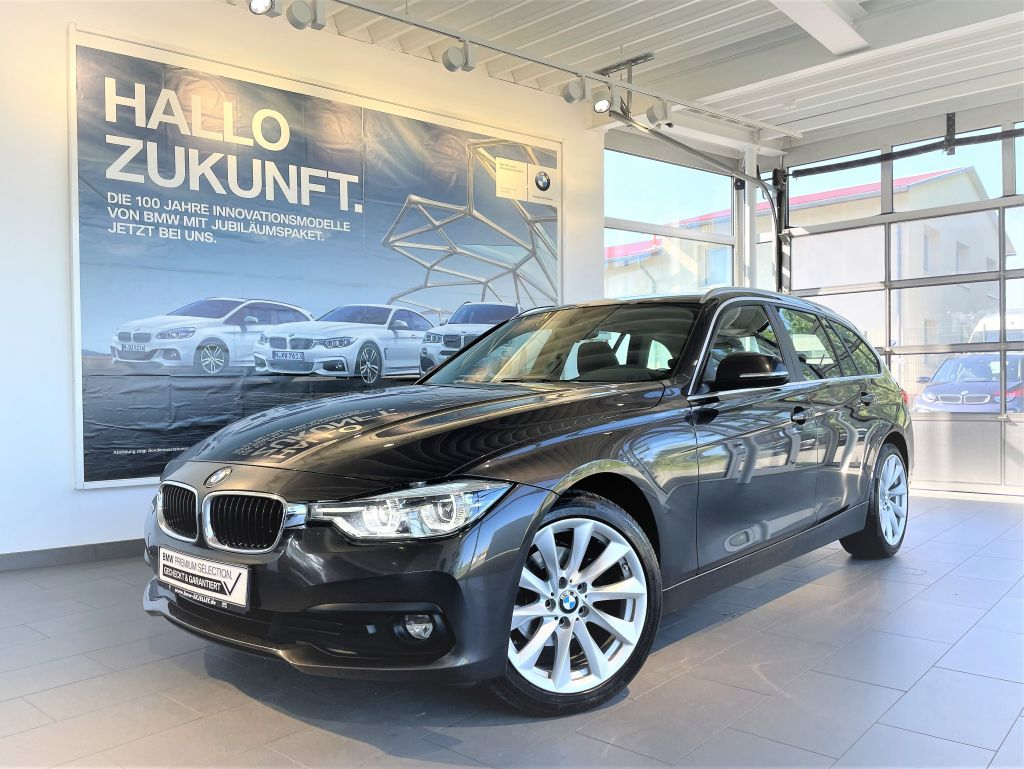 BMW 318d Touring +NAVI+LED+KOMF+HIFI+18*+SITZH+AL+, Jahr 2017, Diesel
