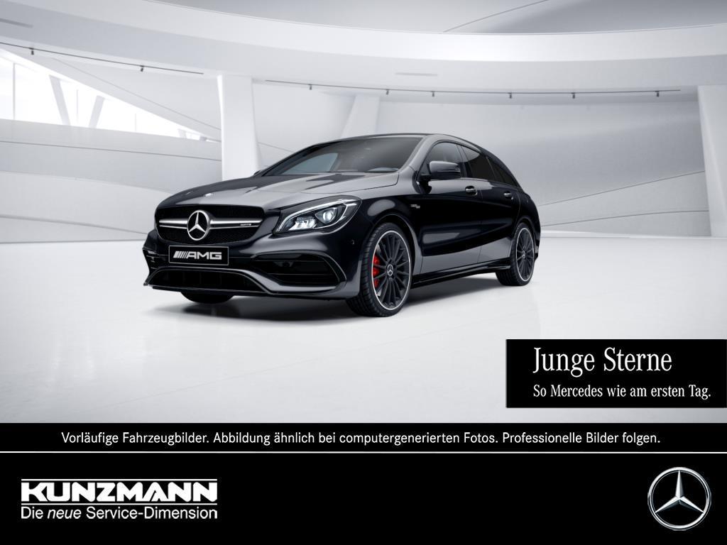 Mercedes-Benz CLA 45 AMG 4M SB Night Comand LED Rückfahrkamera, Jahr 2016, Benzin