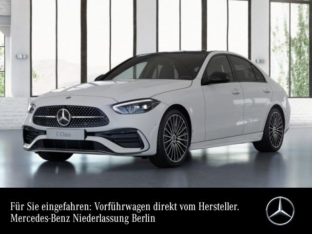 Mercedes-Benz C 200 4M AMG Pano LED Night Kamera Spurhalt-Ass 9G, Jahr 2021, Benzin