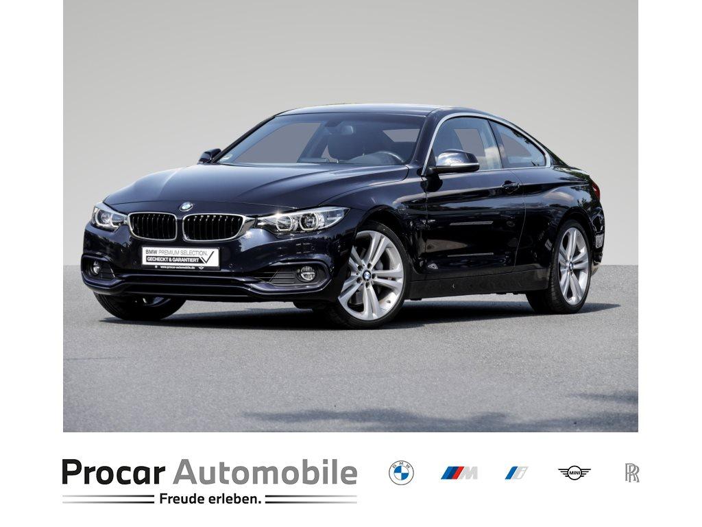 BMW 440i A Sport Line LED Dachhimmel anthrazit M Lederlenkrad Business LM 19 Zoll Sitzheizung, Jahr 2017, Benzin