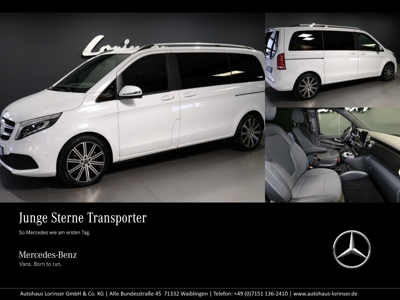 Mercedes-Benz V 300 d Kompakt Edition NAVI/LED/AHK/KAMERA/PTC, Jahr 2019, Diesel
