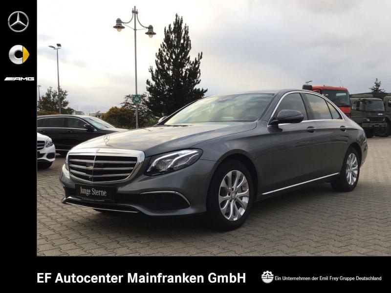 Mercedes-Benz E 300 9G Exclusive+Mbeam+COMAND+schicke Farbkombi, Jahr 2016, petrol