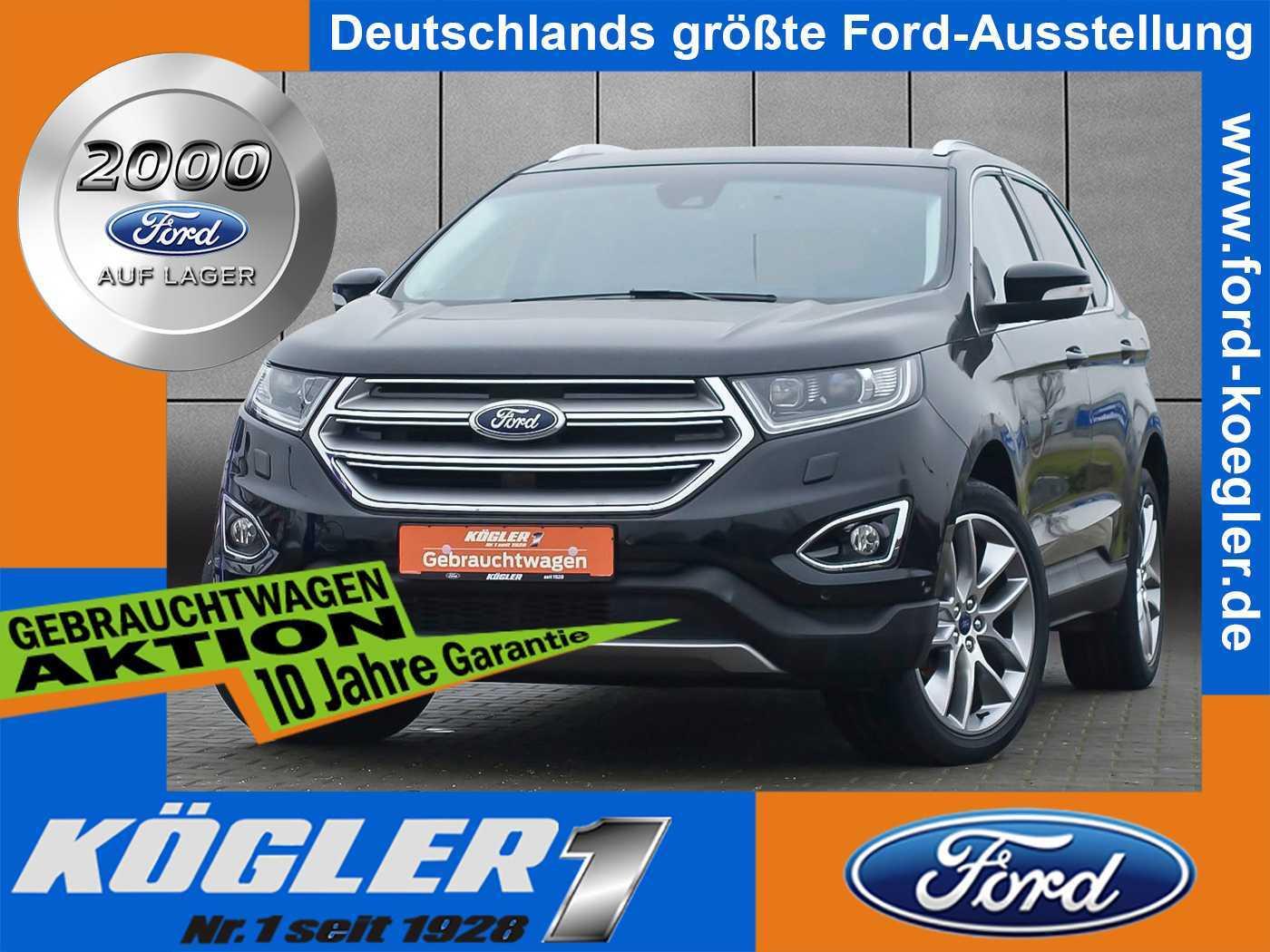 Ford Edge 2.0 TDCi Titanium/Business-Paket/Tempomat, Jahr 2016, Diesel
