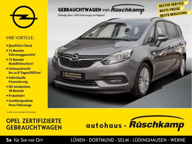 Opel Zafira C ON 1.4 Turbo Navi Rückfahrkam. Fernlichtass. PDCv+h LED-Tagfahrlicht Multif.Lenkrad, Jahr 2017, Benzin
