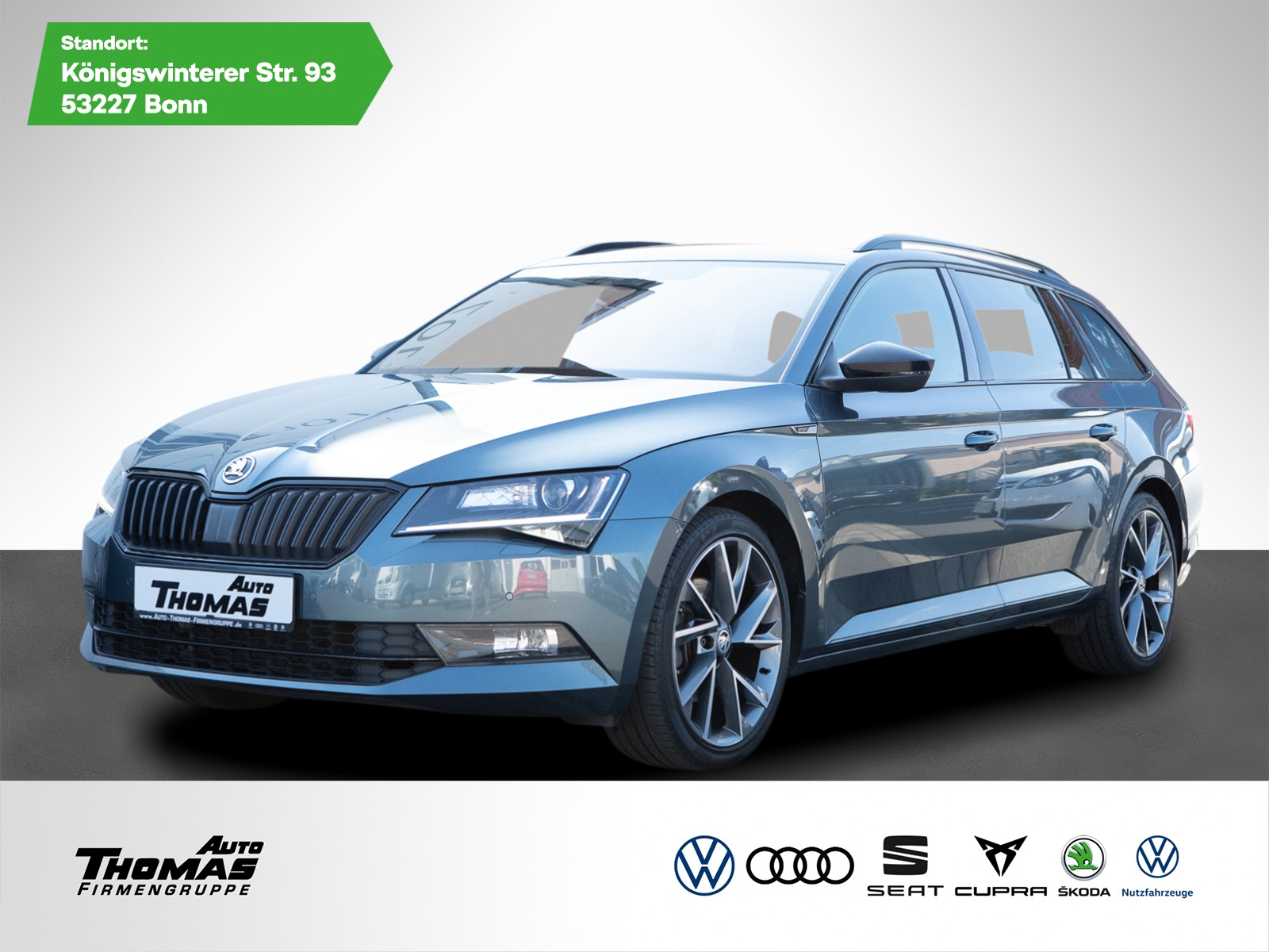 Skoda Superb III Combi Sportline 2.0 TDI DSG *XEN*AHK*, Jahr 2017, Diesel